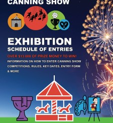 Canning Show 1 and 2 November